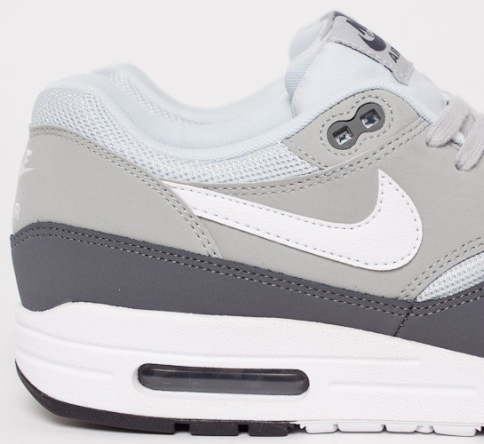 deb3c35fc8 Nike Air Max 1 Essential (Dark Grey/White-Silver-Pure Platinum ...