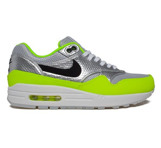 new products 3d057 b419e Nike Air Max 1 FB Premium Mercurial Pack QS (Metallic SilverBlack-Volt)  - Consortium