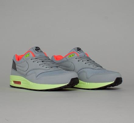 cc3136099b Nike Air Max 1 FB (Wolf Grey/Wolf Grey-Liquid Lime) - Consortium.