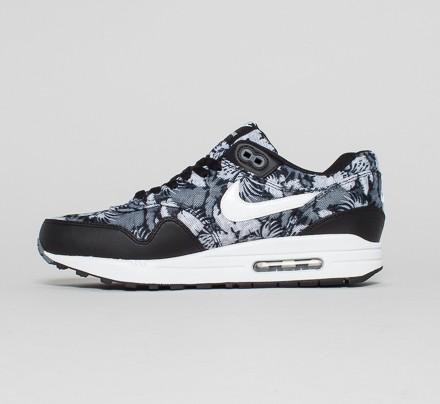 Nike Air Max 1 GPX 'Floral' (BlackWhite Dark Grey) Consortium