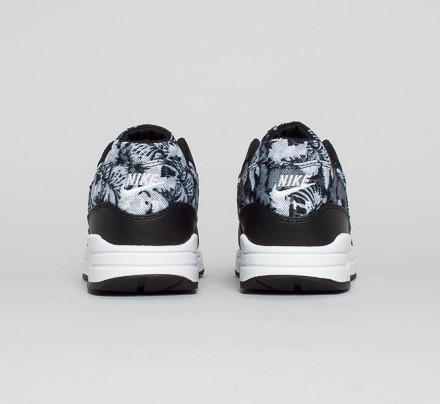 Nike Air Max 1 GPX Floral Black White Dark Grey