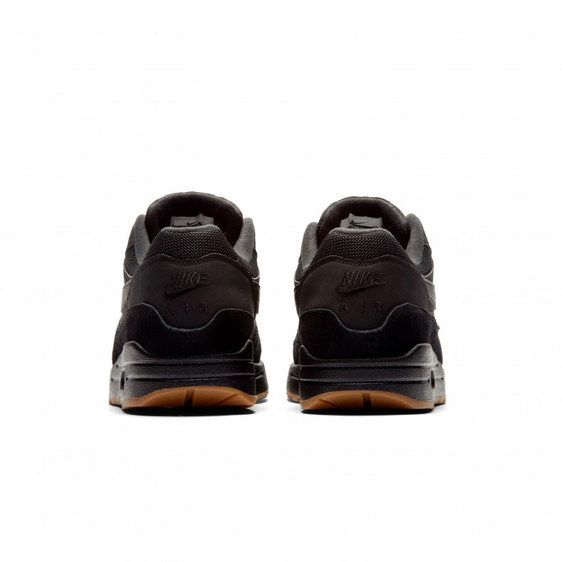 air max 1 black black gum medium brown