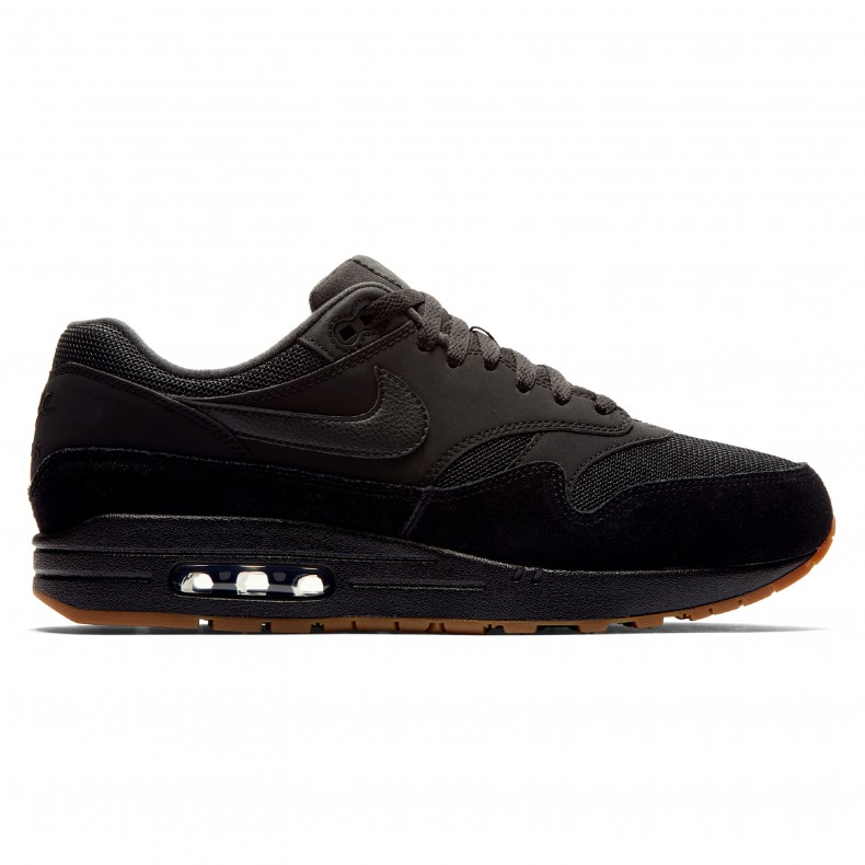 timeless design 5f4e4 19247 Nike Air Max 1  Gum Pack  (Black Black-Black-Gum Medium Brown) - AH8145-007  - Consortium.