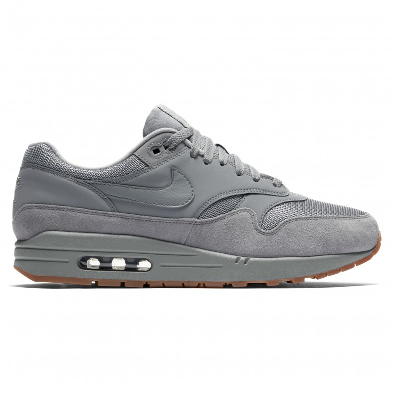 low priced 82b93 af0cd Nike Air Max 1  Gum Pack  (Cool Grey Cool Grey-Cool Grey) - AH8145-005 -  Consortium.