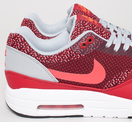 outlet store 92613 07c16 Nike Air Max 1 JCRD. (Gym Red Laser Crimson-Light ...