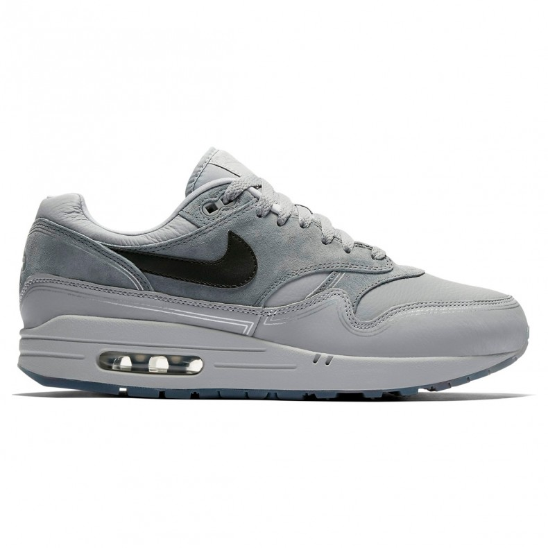 low priced 6fd3d 7c5b0 Nike Air Max 1  Pompidou By Night  (Wolf Grey Black-Cool Grey) - AV3735-001  - Consortium