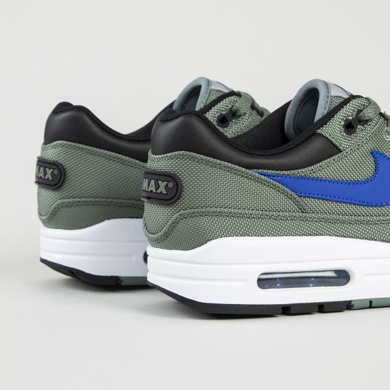 new styles cfe43 9d853 Nike Air Max 1 Premium (Clay Green/Hyper Royal-White-Black)