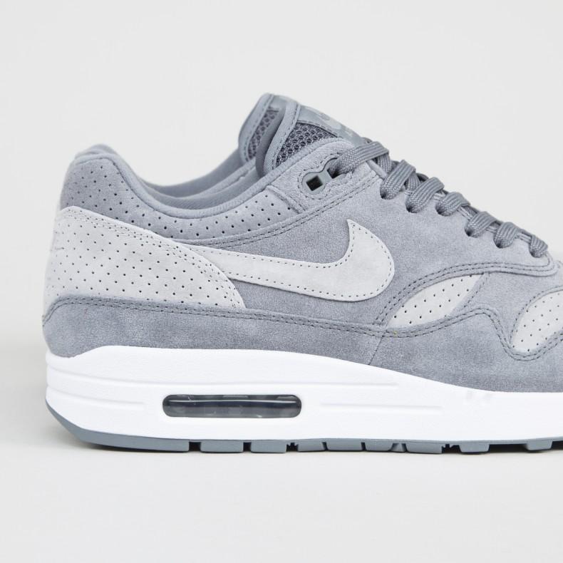 ec3b73e6b1b Nike Air Max 1 Premium (Cool Grey Wolf Grey-White) - Consortium