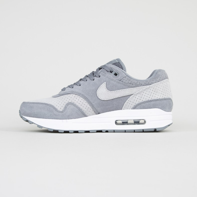 Nike Air Max 1 Premium (Cool Grey Wolf Grey White)