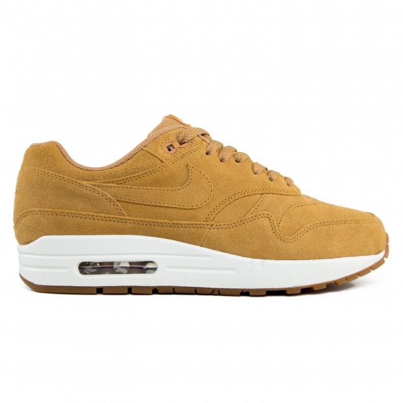 separation shoes 1b16b af7db Nike Air Max 1 Premium  Flax  (Flax Flax-Sail-Gum Med Brown) - Consortium