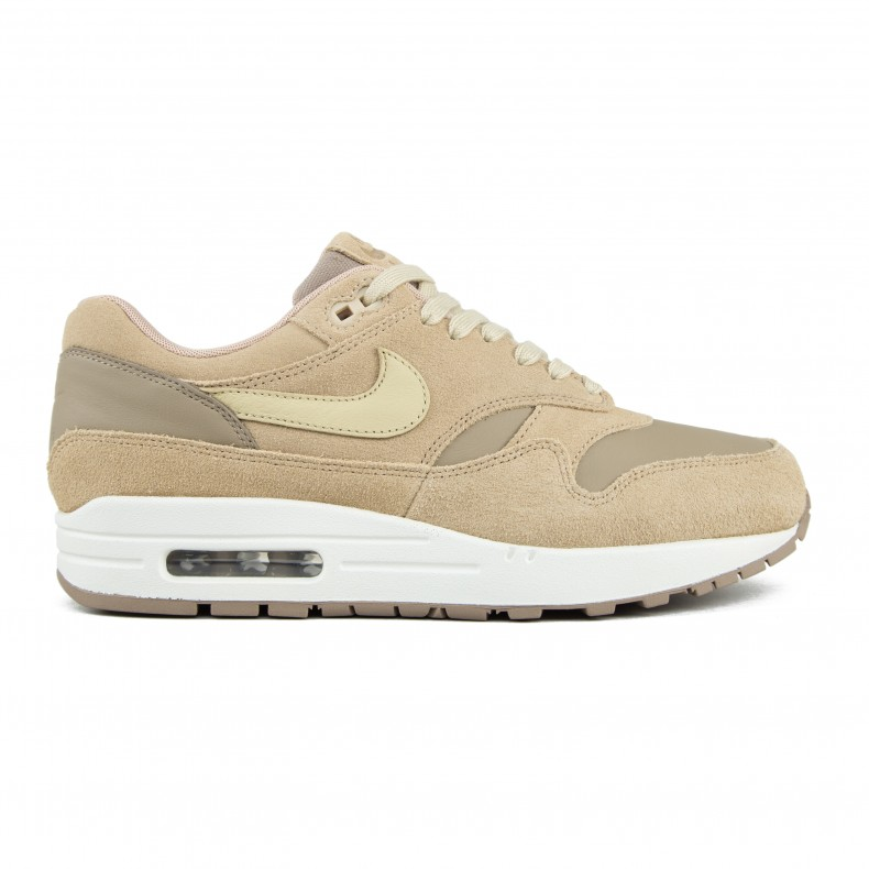meet 31bd5 92051 Nike Air Max 1 Premium Leather (Khaki Team Gold-Mushroom-Sail) - Consortium