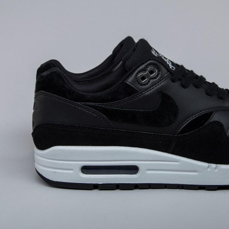 Nike Air Max 1 Premium 'Rebel Skulls' (BlackChrome Off White
