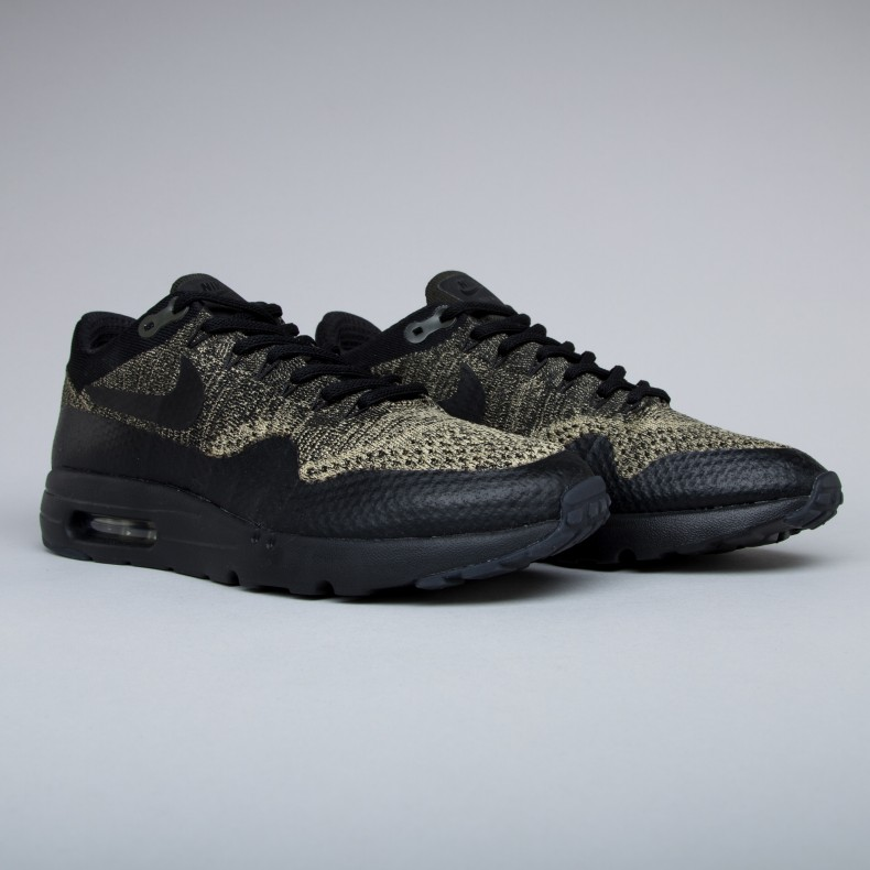 580aa936f07 Nike Air Max 1 Ultra Flyknit (Neutral Olive Black-Sequoia) - Consortium.