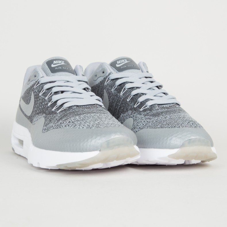 Nike Air Max 1 Ultra Flyknit Wolf Grey graysands.co.uk