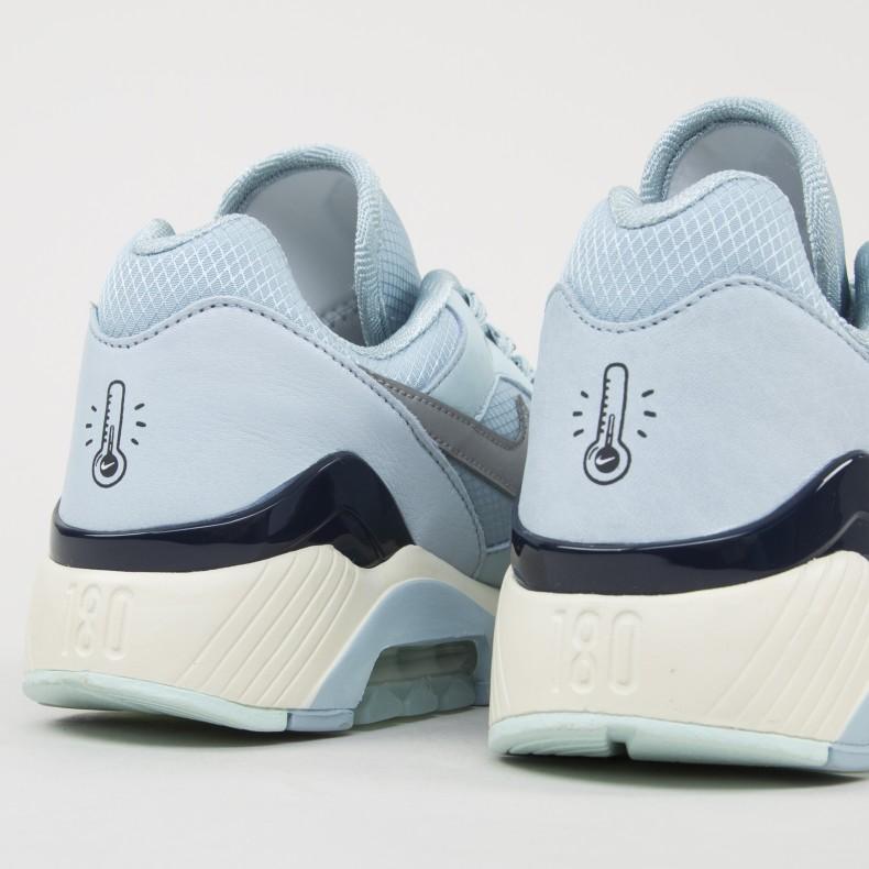newest 4bd4e 4a6ef Nike Air Max 180. (Ocean BlissMetallic Silver-Igloo)