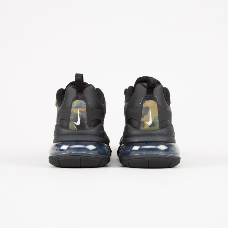 nett Nike Air Max 270 React Camo CT5528 001 Release Date SBD