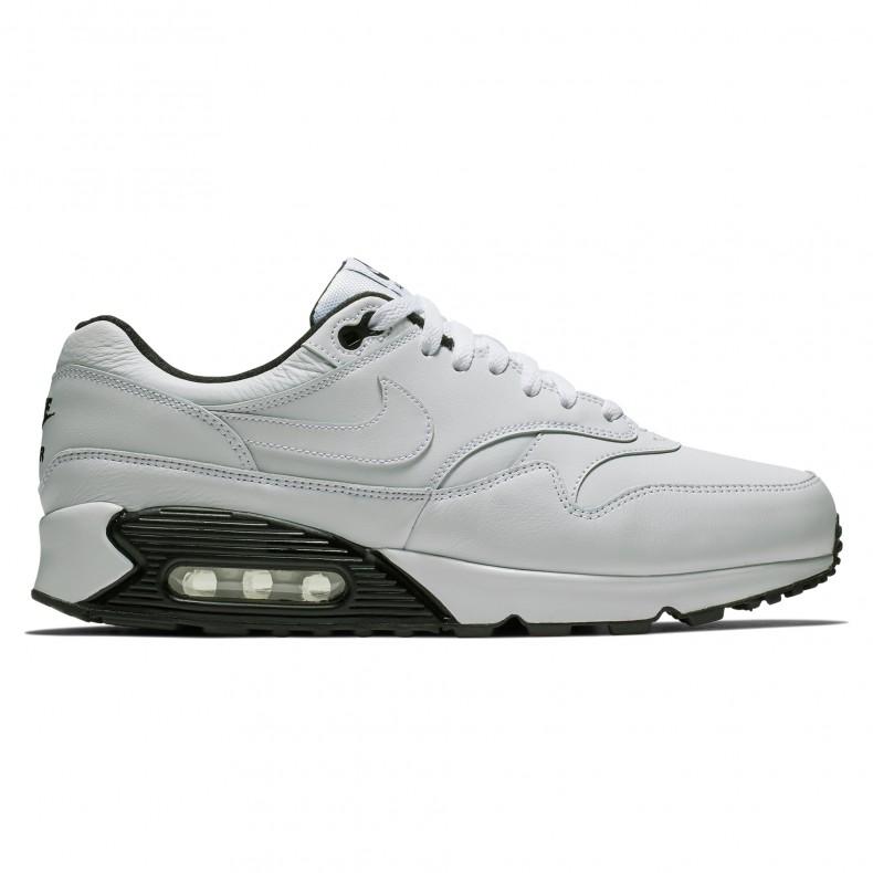 low priced 5923c 545b0 Nike Air Max 90/1 (White/White-Black-Black)
