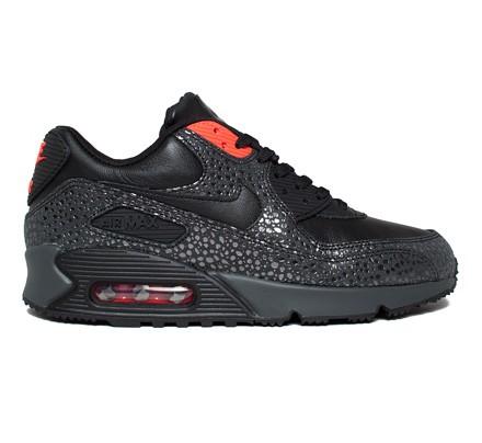 517354d071f8 Nike Air Max 90 Deluxe (Black Black-Infrared-Anthracite) - Consortium.