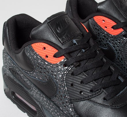 nike air max 90 deluxe - black/infrared/anthracite