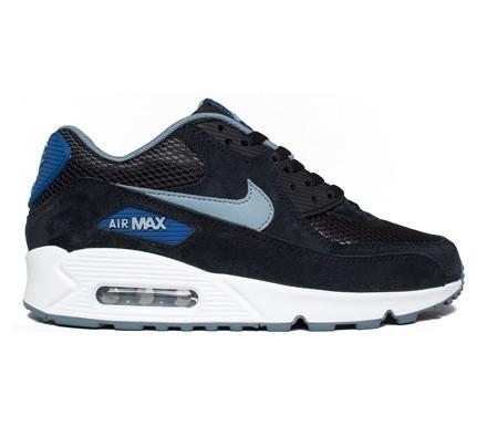 Nike Air Max 90 Essential (Black Dove Grey-Gym Blue-Blue Graphite) -  Consortium. cbd0debe2