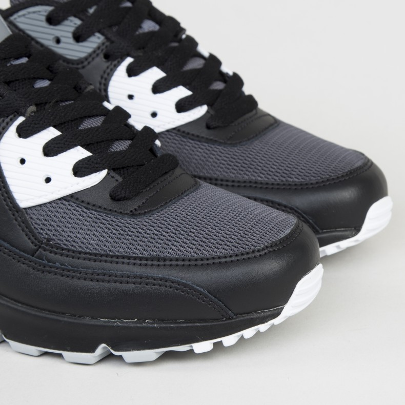 Brand Deals Nike Air Max 90 Essential Black, Wolf Grey