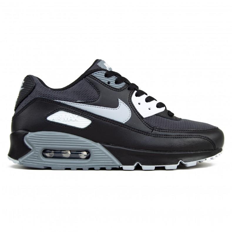 sale nike air max 90 wolf grey all black ad918 4d6af