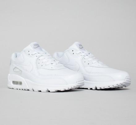 pretty nice 4c73f 9f355 Nike Air Max 90 Leather (True White/True White)