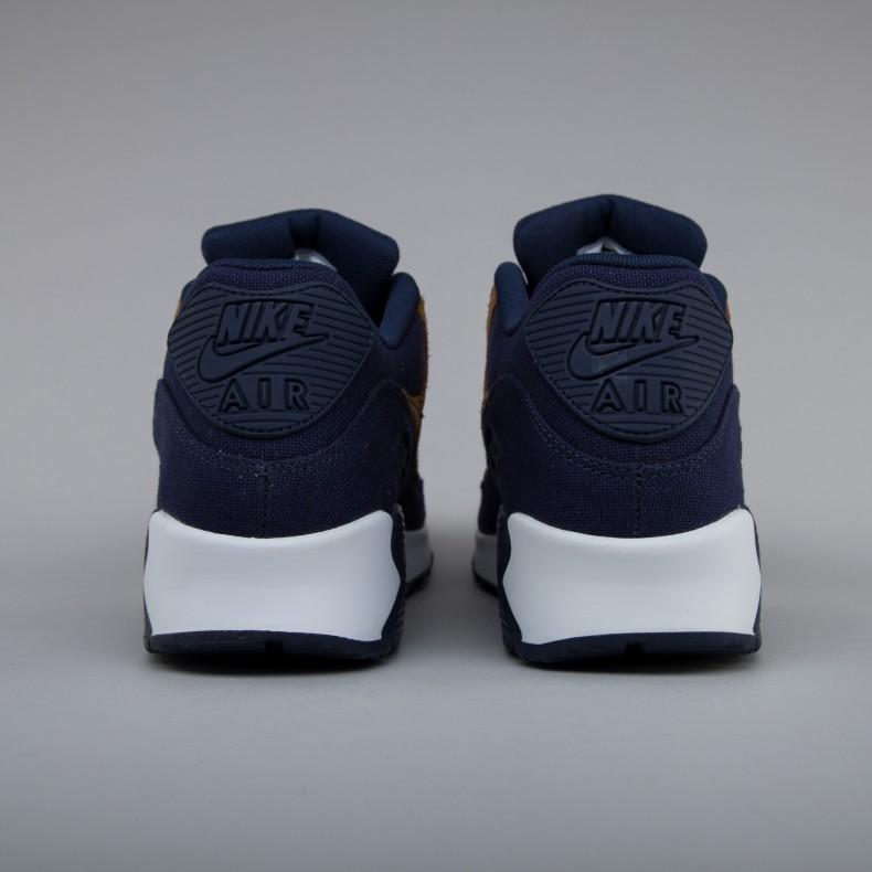 promo code 2dd8b e20a1 Nike Air Max 90 Premium (Ale Brown/Ale Brown-Midnight Navy ...