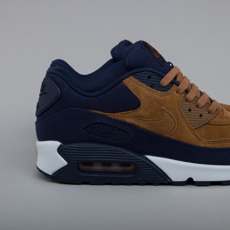 promo code 98282 8bba2 Nike Air Max 90 Premium (Ale Brown/Ale Brown-Midnight Navy ...