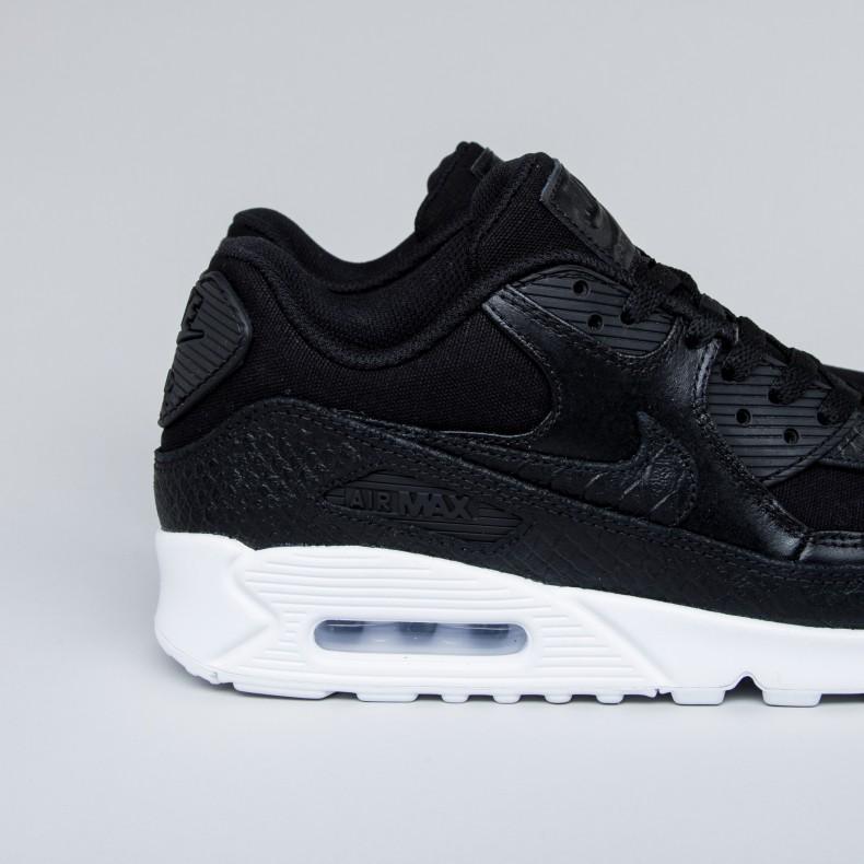 f1314f2c6 Nike Air Max 90 Premium (Black Black-White) - Consortium.