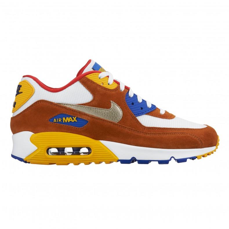 best website 9422a 3d42f Nike Air Max 90 Premium Curry