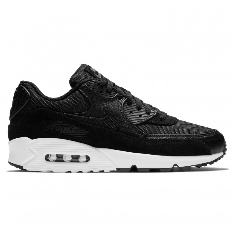 huge selection of 68e28 5ca3f Nike Air Max '90 Premium 'Exotic Skins' (Black/Black-White ...