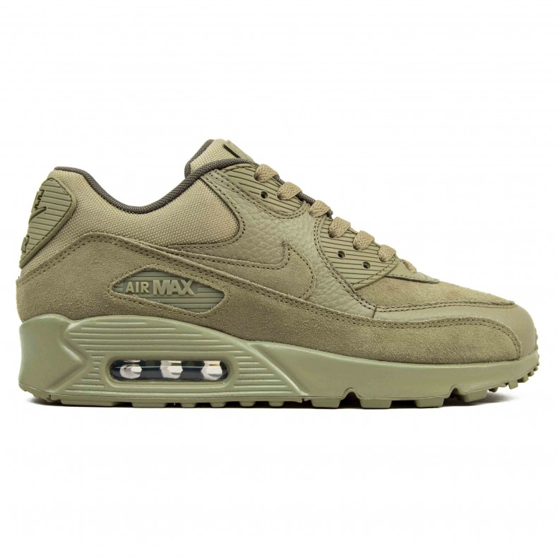 5a29428685 Nike Air Max 90 Premium (Neutral Olive Neutral Olive-Medium Olive) -  Consortium.