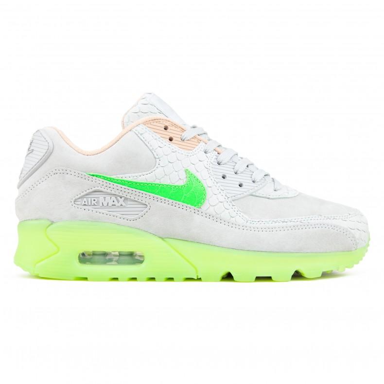 Nike Air Max 90 Premium 'New Species' (Pure PlatinumElectric Green Bio Beige)