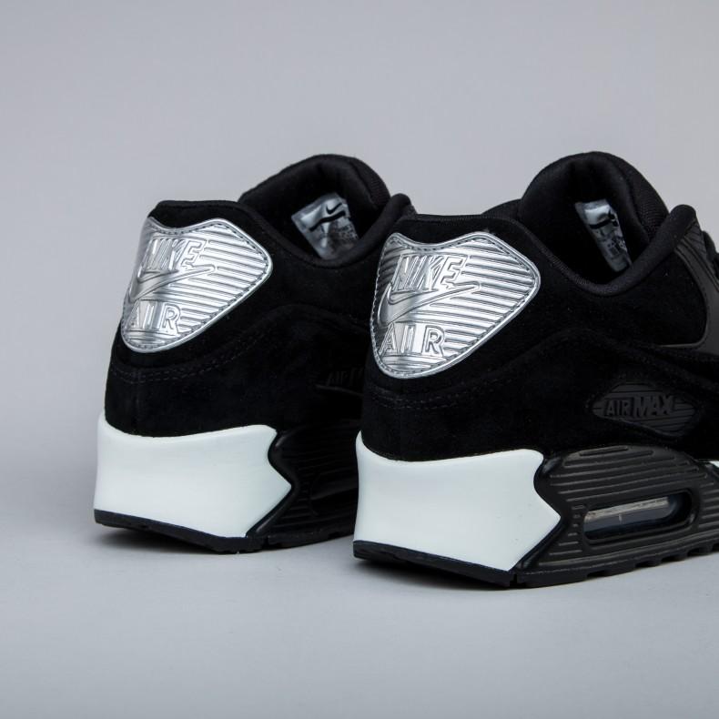 Nike Air Max 90 Premium 'Rebel Skulls' (BlackBlack Off
