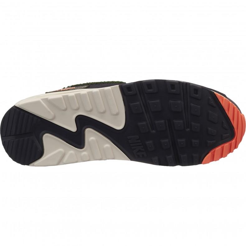 Nike Air Max 90 Premium SE 'Chenille Swoosh' (Oil Grey