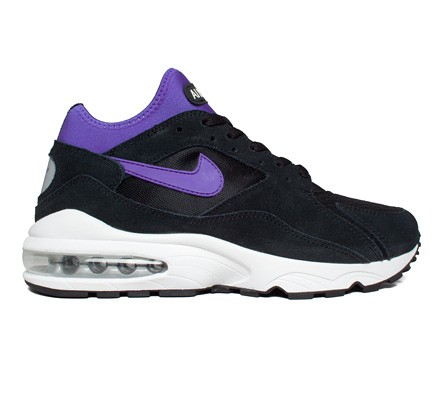 buy popular 76c3c cc1bd Nike Air Max 93 (Black Persian Violet-Metallic Silver) - Consortium