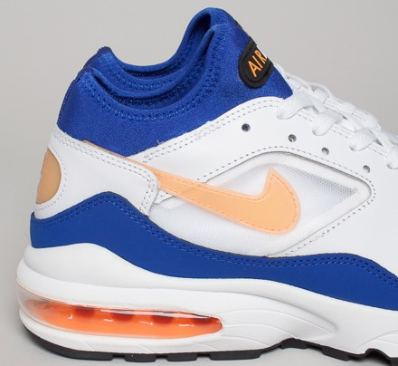 reputable site 465d0 a6472 Nike Air Max 93 OG. (White Bright Citrus-Hyper Blue-Black)