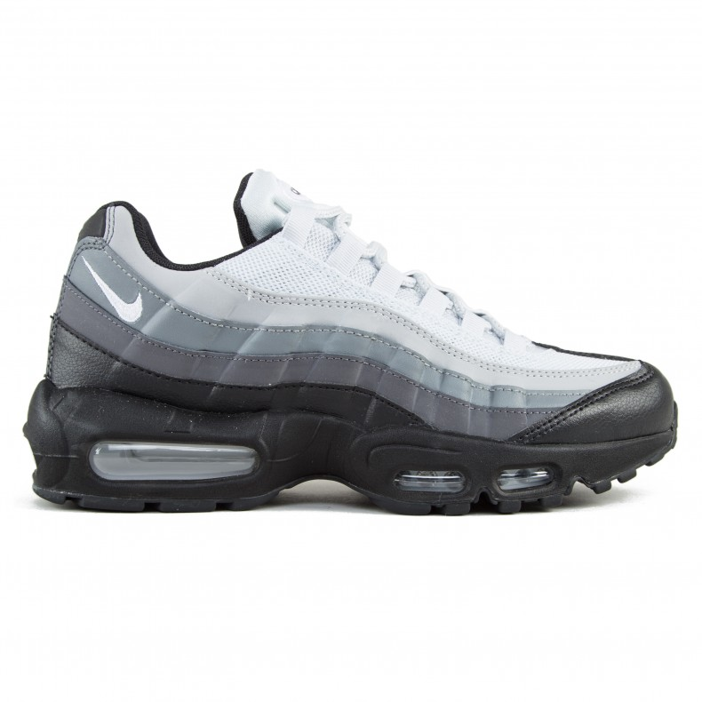 19395f021796d0 Nike Air Max 95 Essential (Black White-Dark Grey-Cool Grey) - Consortium