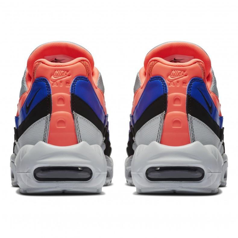 5d4784bed Nike Air Max 95 Essential (Pure Platinum/Black-Bright Mango ...