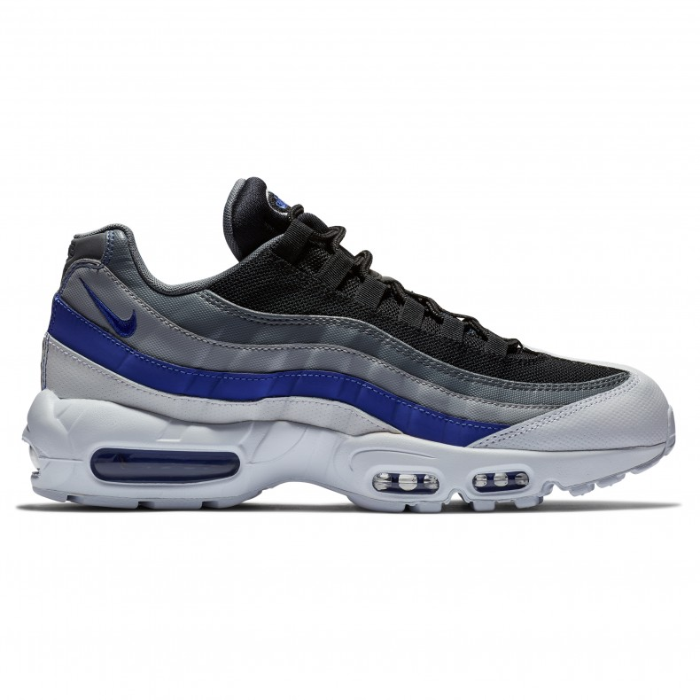 69d6520bbe82 Nike Air Max 95 Essential (White Persian Violet-Cool Grey-Wolf Grey) -  Consortium