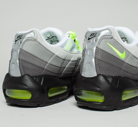 newest 05085 07e26 Nike Air Max 95 OG 'Neon' (Black/Volt-Medium Ash-Dark Pewter ...