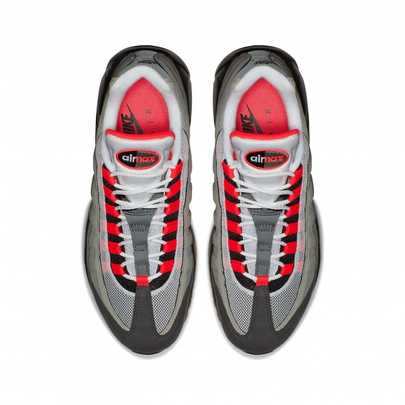 Nike Air Max 95 OG, white solar red granite dust