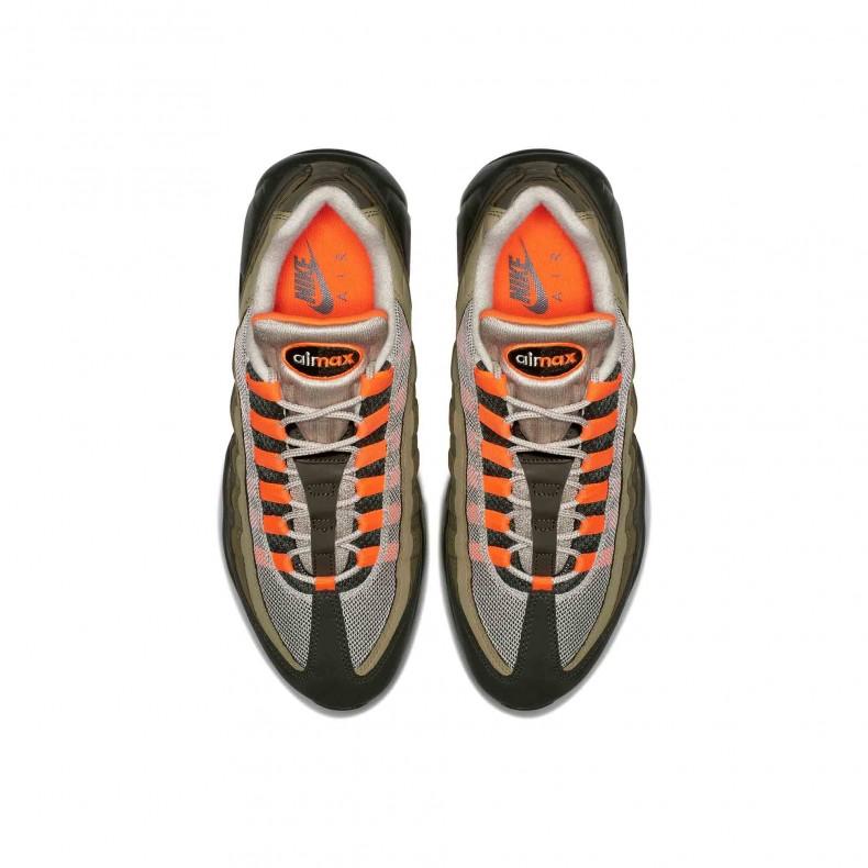 6a26996d52 Nike Air Max 95 OG 'String' (String/Total Orange-Neutral Olive ...