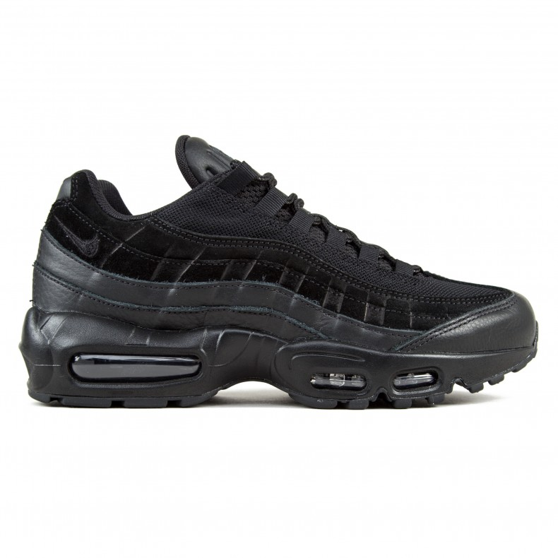 best authentic 871a4 f2121 Nike Air Max 95 Premium (Black Black-Black) - Consortium.