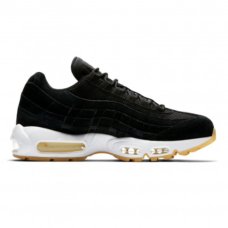 quite nice excellent quality newest collection Nike Air Max 95 Premium (Black/Black-Muslin-White) - Consortium.