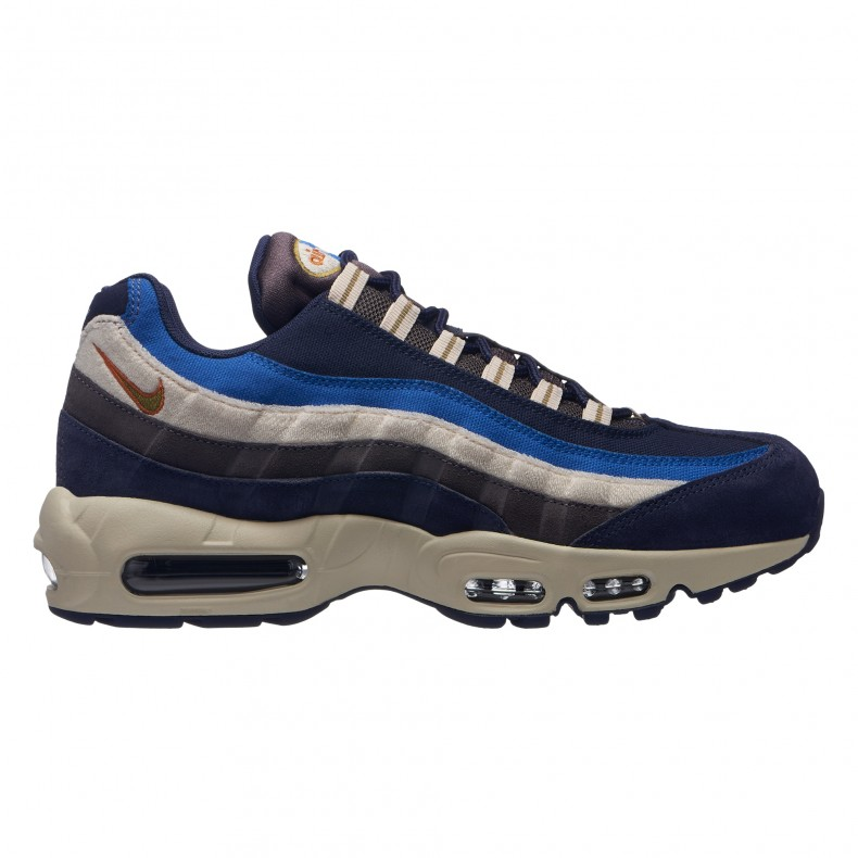 release date: 0ccc6 0a948 Nike Air Max 95 Premium (Blackened Blue/Camper Green-Monarch)