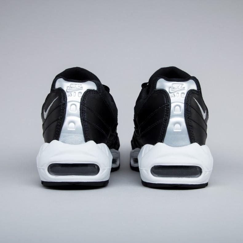 Nike Air Max 95 Premium 'Rebel Skulls' (BlackChrome Black