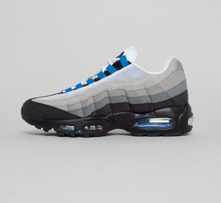 quality design 853ef b2ade Nike Air Max 95 (White Blue Spark-Neutral Grey-Medium Grey) - Consortium