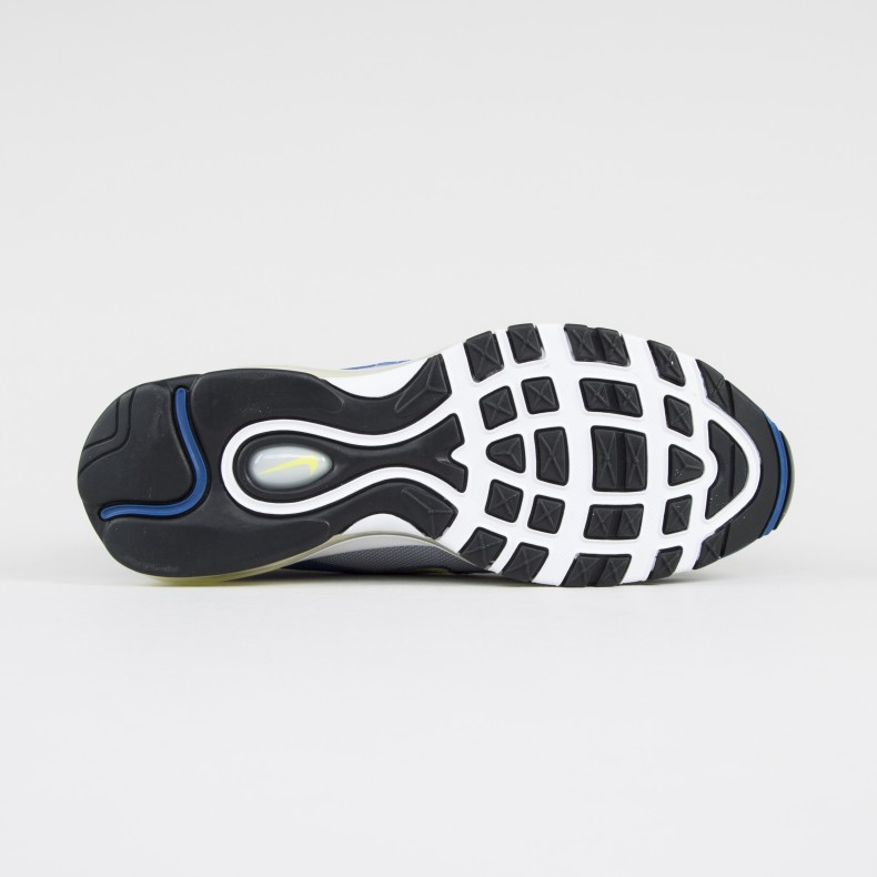 Nike Air Max 97 (Atlantic BlueVoltage Yellow) Consortium.